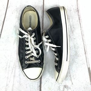 CONVERSE Leather low cut Men's size 12 (W-14)